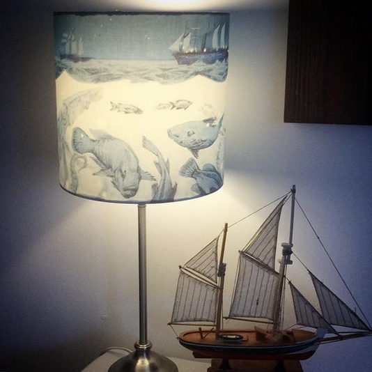 nautical lampshade