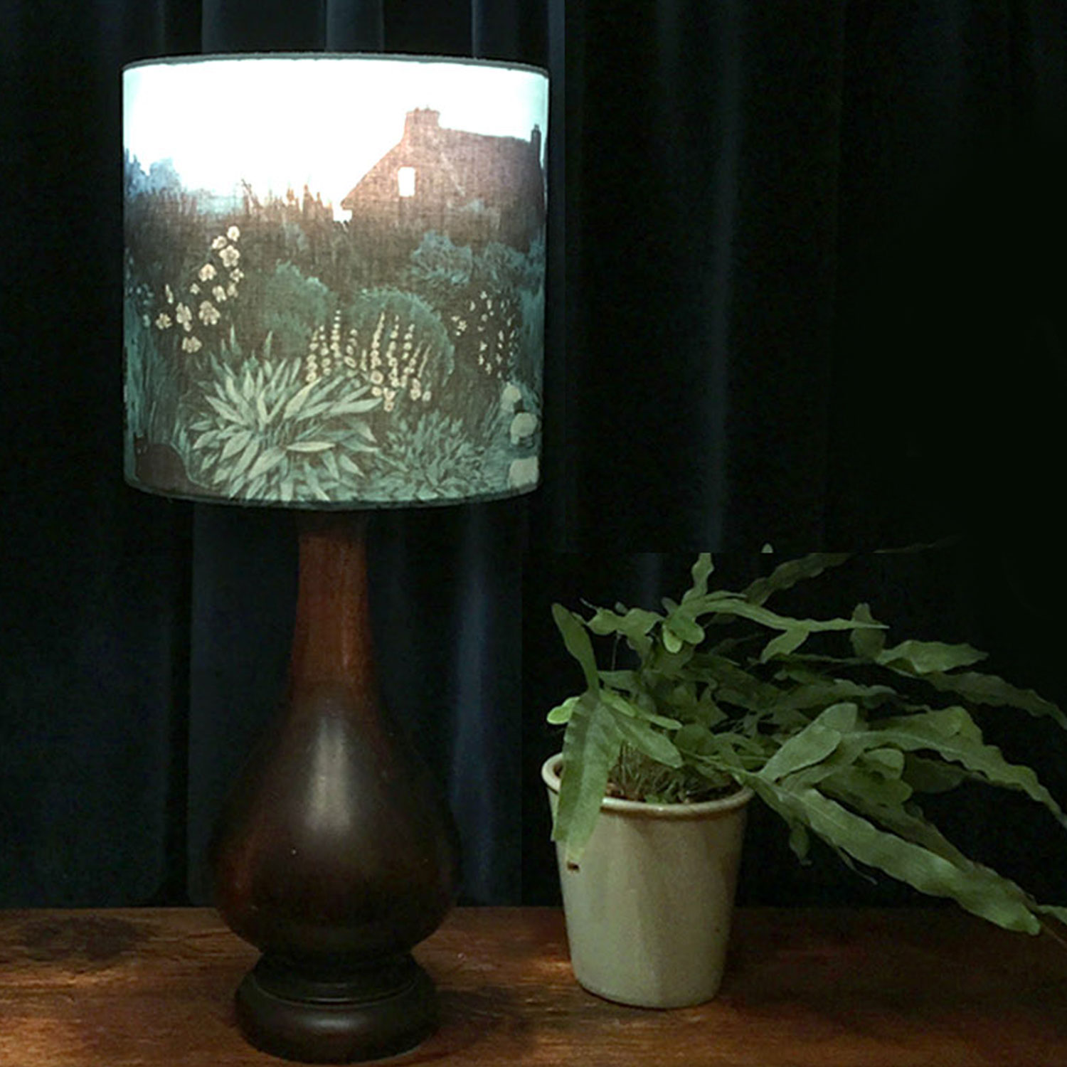 cottage garden lampshade